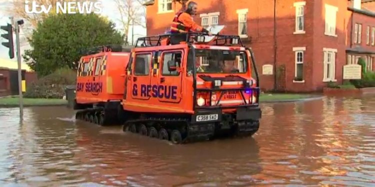 Bay Search and Rescue Hagglund