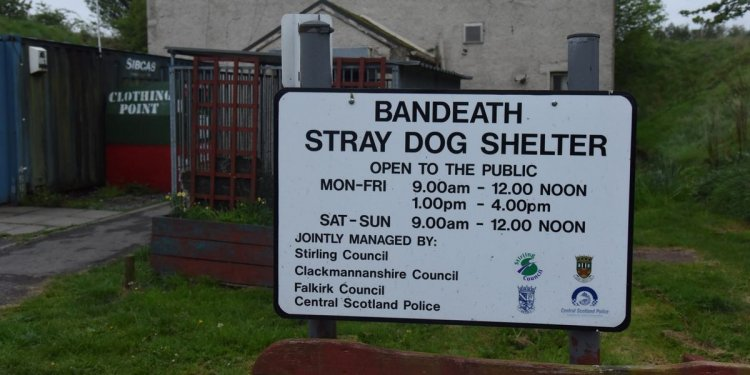 Save Stirling dog shelter
