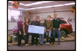 Johnstons Subaru Makes Humane Society of Middletown, NY Charity Of The Month