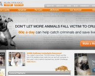 Animal Rescue website
